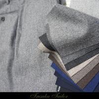 フランネルパンツ   オーダーパンツ - オーダースーツ東京   ツサカテーラー 公式ブログ