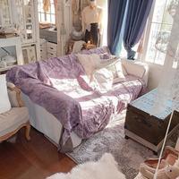 久しぶりにラグマットを買いました♪洗えるもふもふ。 - フレンチシックな家作り。Le petit chateau