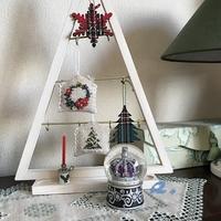 クリスマスオーナメント作り楽しいです。 - Oharibako no yousei