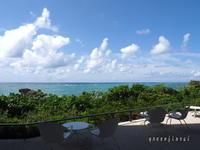 2020.09沖縄⑫-2 おまけの一日、バンタカフェへ - Green Floral