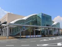 JR岸辺駅 - レトロな建物を訪ねて