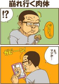 崩れ行く肉体 - 戯画漫録