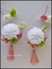 七五三の髪飾り - Bonbon Fleur ~ Jours heureux  コサージュ&和装髪飾りボンボン・フルール