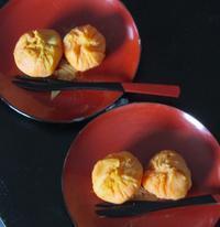 さつま芋で和菓子 - @lapie.fr