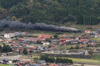 煙一直線- 2019年・山口線 - - ねこの撮った汽車