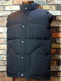 ZANTER JAPAN ザンタージャパン 800フィルパワー ダウンベスト 日本製 Zanter down vest  カラー:オリーブ、ブラック 再入荷 - ZAP[ストリートファッションのセレクトショップ]のBlog