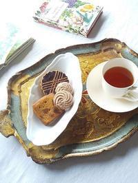 おやつの時間♪ ジャニス洋菓子店さんの焼き菓子 - キッチンで猫と・・・