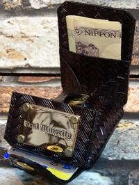RealMinority リアルマイノリティー エンボスレザー オリジナル コインケース (basket) embossed leather カラー:ブラック 9,980円(内税) - ZAP[ストリートファッションのセレクトショップ]のBlog