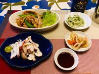 レンコン料理2種きんぴらに海苔塩! - ワタシの呑日記