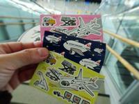 飛行機シール - NATURALLY