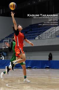 sony α9II でスポーツ撮影。高橋香澄選手(立川ダイス) sony SEL70200GM 実写 @TachikawaDice #スポーツ撮影 #バスケ - さいとうおりのお気に入りはカメラで。