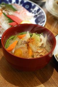 酒粕豚汁と里芋の蒲焼 - KICHI,KITCHEN 2