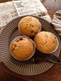 チョコチップマフィン - blancheの日記