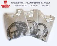 "WAREHOUSE 461""FADED""THREE B's SWEAT 入荷 - a piece of Mix."