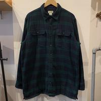 L.L.Bean 裏フリースシャツ +お知らせ! - 「NoT kyomachi」はレディース専門のアメリカ古着の店です。アメリカで直接買い付けたvintage 古着やレギュラー古着、Antique、コーディネート等を紹介していきます。