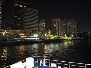【東京島旅Photo②】フェリーから見るアイランドブルー&東京横浜夜景 -