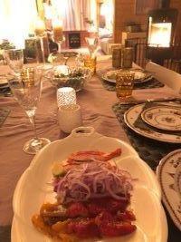 クララとアニエスもお友だちのお客様 - Fran とDomagkのテーブル日記