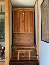 祈りの家具 - 家具工房モク・木の家具ギャラリー 『工房だより』