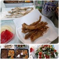 生ししゃもで楽しむ♪天ぷら唐揚げに - 気ままな食いしん坊日記2