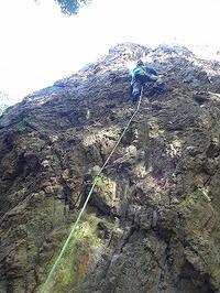 楽しい岩登り(高木山) - blog版 がおろ亭