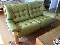納品実例カリモク家具ソファZU49モデル - CLIA クリア家具合同会社