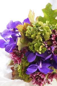 お花屋さん同行レッスン - お花に囲まれて