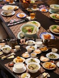 XIN CHAO ベトナム料理レッスン~エビ尽くしのクイニョン料理&ザボン料理の会 - 晴れた朝には 改