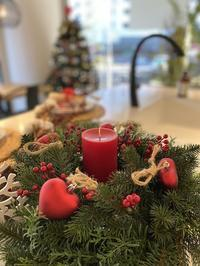 【エクレアキッチン 、ショールームのクリスマス装飾】 - Plaisir de Recevoir フランス流 しまつで温かい暮らし
