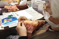 編みもの~ 段染め毛糸のベスト ~ - 鎌倉のデイサービス「やと」のブログ