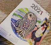 来年のカレンダーを頂きました - いくつになってもキザ男