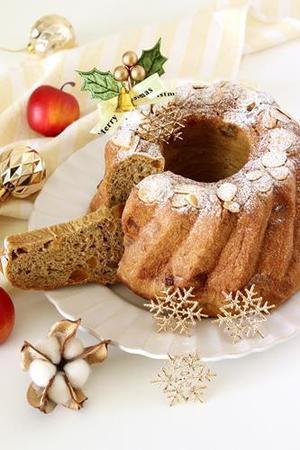 【レシピ】紅茶とりんごのクグロフブレッド -