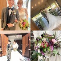 wedding bouquet‼︎ -  Flower and cafe 花空間 ivory (アイボリー)