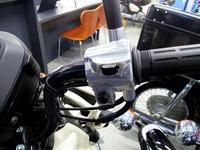 クロスカブ50のハンドルスイッチ変更 - バイクの横輪