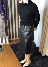 「ケーブル柄プルオーバー2011」「大人のキルトスカート2011」試着レポート③ - madameH CLOSET