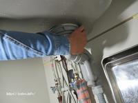 W様邸キッチンシンク廻りから漏水処理して安心して頂きました。 - 一場の写真 / 足立区リフォーム館・頑張る会社ブログ