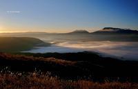 大観峰からの雲海 - A  B  C