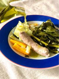 今日の野菜スープと手作りサルシッチャ【ゆるレシピあり】 - 幸せなシチリアの食卓、時々にゃんこ