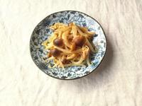 作り置きに♪もやしとキノコのガーリック牡蠣だし醤油炒め - Minha Praia