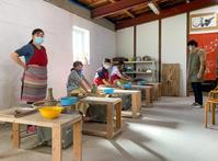 本日の陶芸教室 Vol.1165,1166,1167,1168 - 陶工房スタジオ ル・ポット