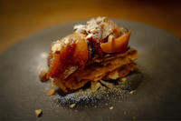 林檎のキャラメルパイ - おうちごはん日記