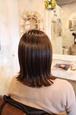 まとめ髪にも効果的なハイライト - HAIR DRESS  Fa-go    武蔵浦和 美容室 ブログ