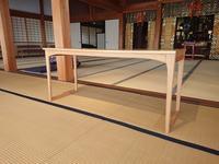 特注のテーブルを製作しました - Inagaki Design Works News