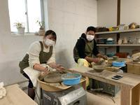 本日の陶芸教室 Vol.1169,1170,1171,1172 - 陶工房スタジオ ル・ポット