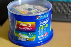 VerbatimのBD-R 2020.11.22 - 気が向いたら書き込むブログ