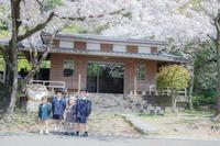 徳島城公園でご入学記念撮影 - カメラガール