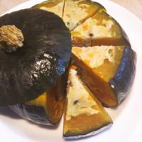 かぼちゃのお宝料理、そしてカーテンと仔イヌ - Hanakenhana's Blog
