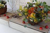 10月レッスンレポ - mille fleur の花とおやつ