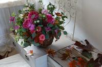 11月レッスンレポ - mille fleur の花とおやつ