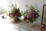 11月レッスンレポ2 - mille fleur の花とおやつ
