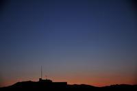 ひこうき雲が見えた朝 - ぎゃらりー竹斎堂